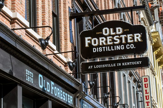 The Old Forester on Main Street's Whiskey Row.