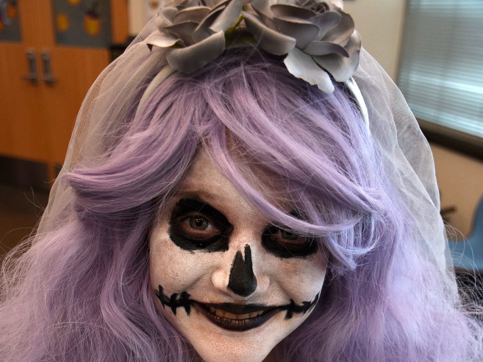 Cadence Wages, 9, is too cute to really be scary. The Spooktacular, the City of Marco Island's pre-Halloween celebration, returned to Mackle Park's air-nasium on Saturday afternoon, with costumes, games and family fun.