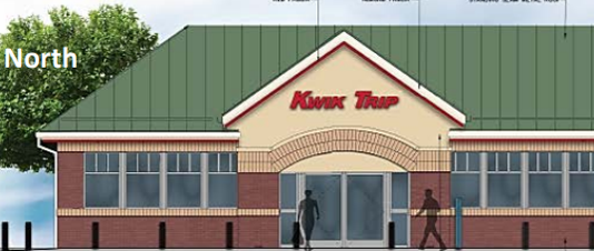 Artist Rendering Kwik Trip Highway 100 Better