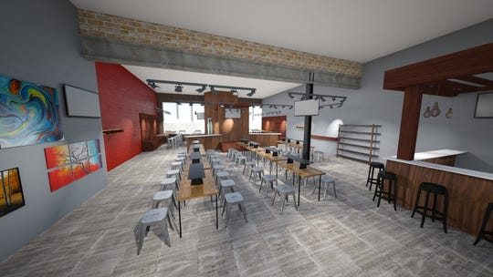 A rendering of the new location for Splash Studio at 1815 E. Kenilworth Place on Milwaukee's east side.