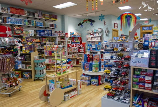 Toys abound at Silly Willyz toy store in Pewaukee.