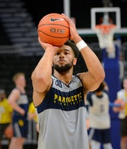 Junior forward Ed Morrow is eligible to play for Marquette after sitting out last season as a transfer from Nebraska.
