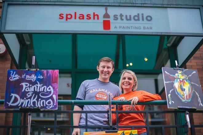 David and Marla Poytinger at Splash Studio in Milwaukee's Historic Third Ward.