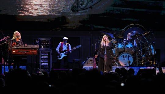 Fleetwood Mac performs at Fiserv Forum on Sunday, Oct. 28, 2018.