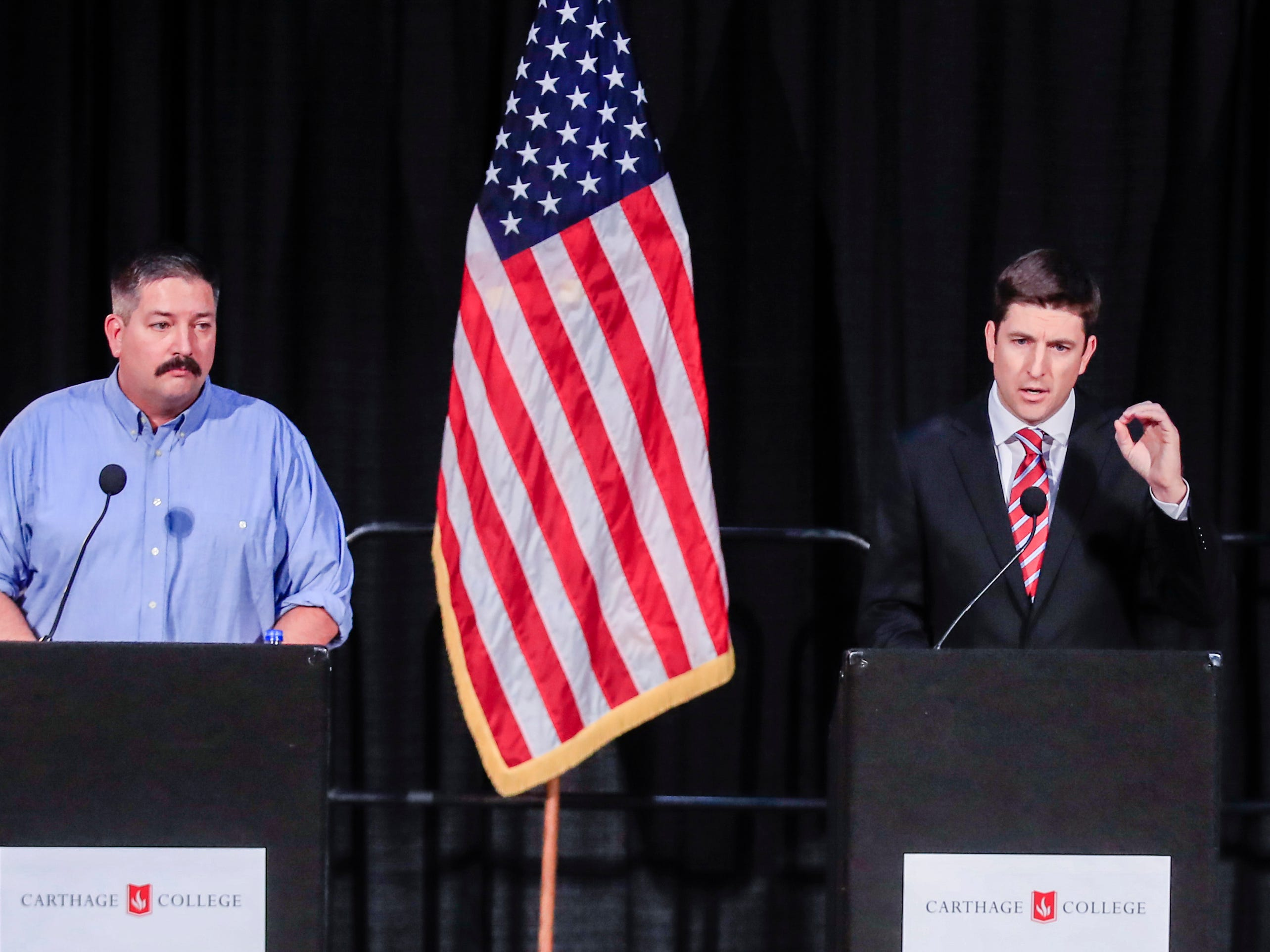 Bryan Steil defeats Randy Bryce in 1st Congressional District race