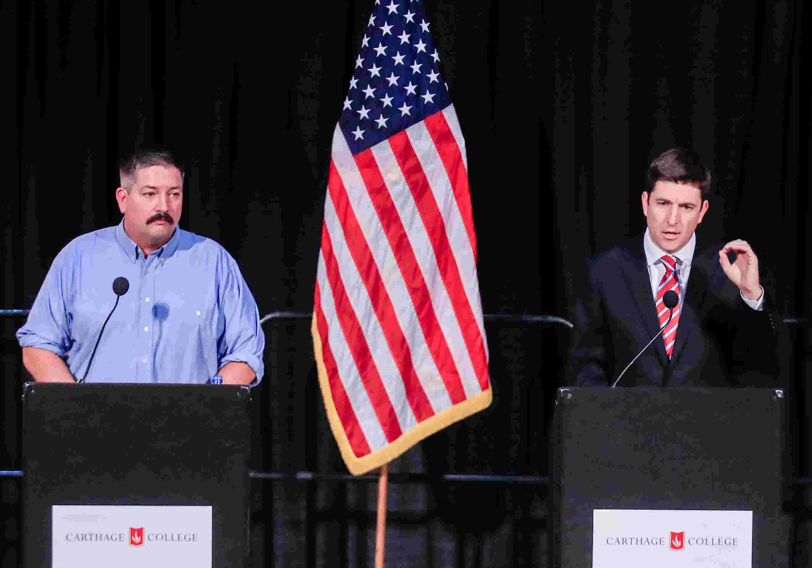 The 1st Congressional District debate between Randy Bryce and Bryan Steil  in four minutes