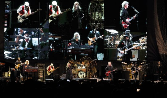 Fleetwood Mac performs at Fiserv Forum on Sunday, Oct. 28, 2018.