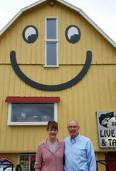 Maria and Glen Luther are owners of The Smiley Barn in Delafield.