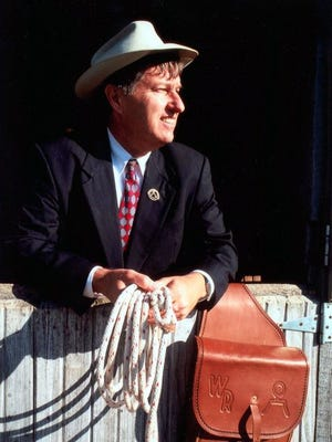 Randall Reeder will perform as Will Rogers in the latest Gaston Lecture on Thursday at Arkansas State University-Mountain Home.