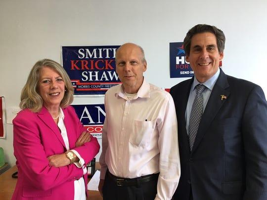 GOP candidates for Morris Co. freeholder: Deborah Smith, John Krickus, Stephen Shaw