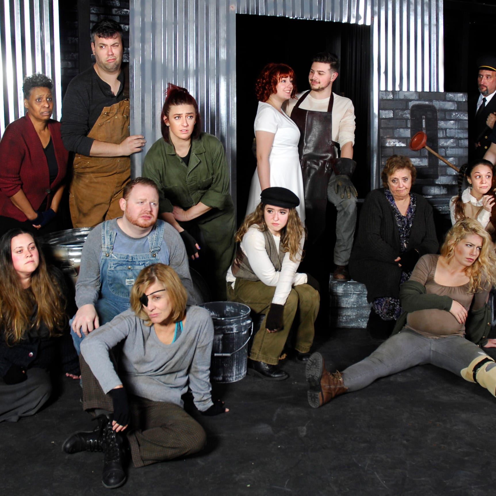 Satire is number one in 'Urinetown,' which opens at Barn Theatre in Montville on Nov. 9