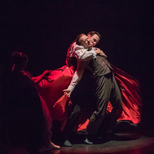 Alabama Dance Theatre presents Dracula, a ballet to die for.