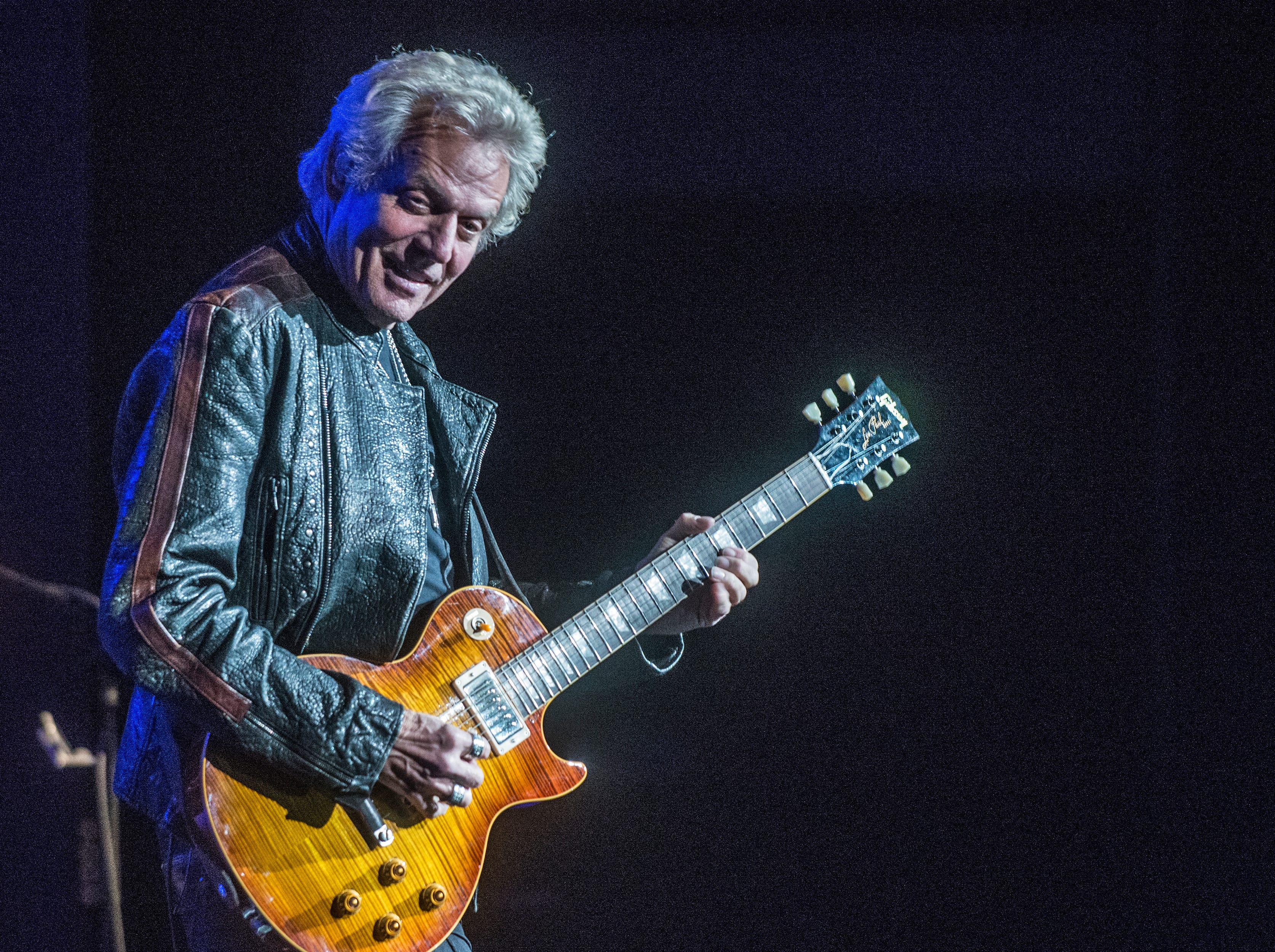 Don Felder, formerly of the Eagles, performs Saturday, Oct. 27, 2018, at the Montgomery Performing Arts Centre.