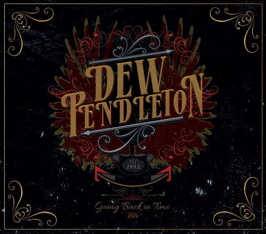 "Dew Pendleton's new CD ""Going Back in Time."""