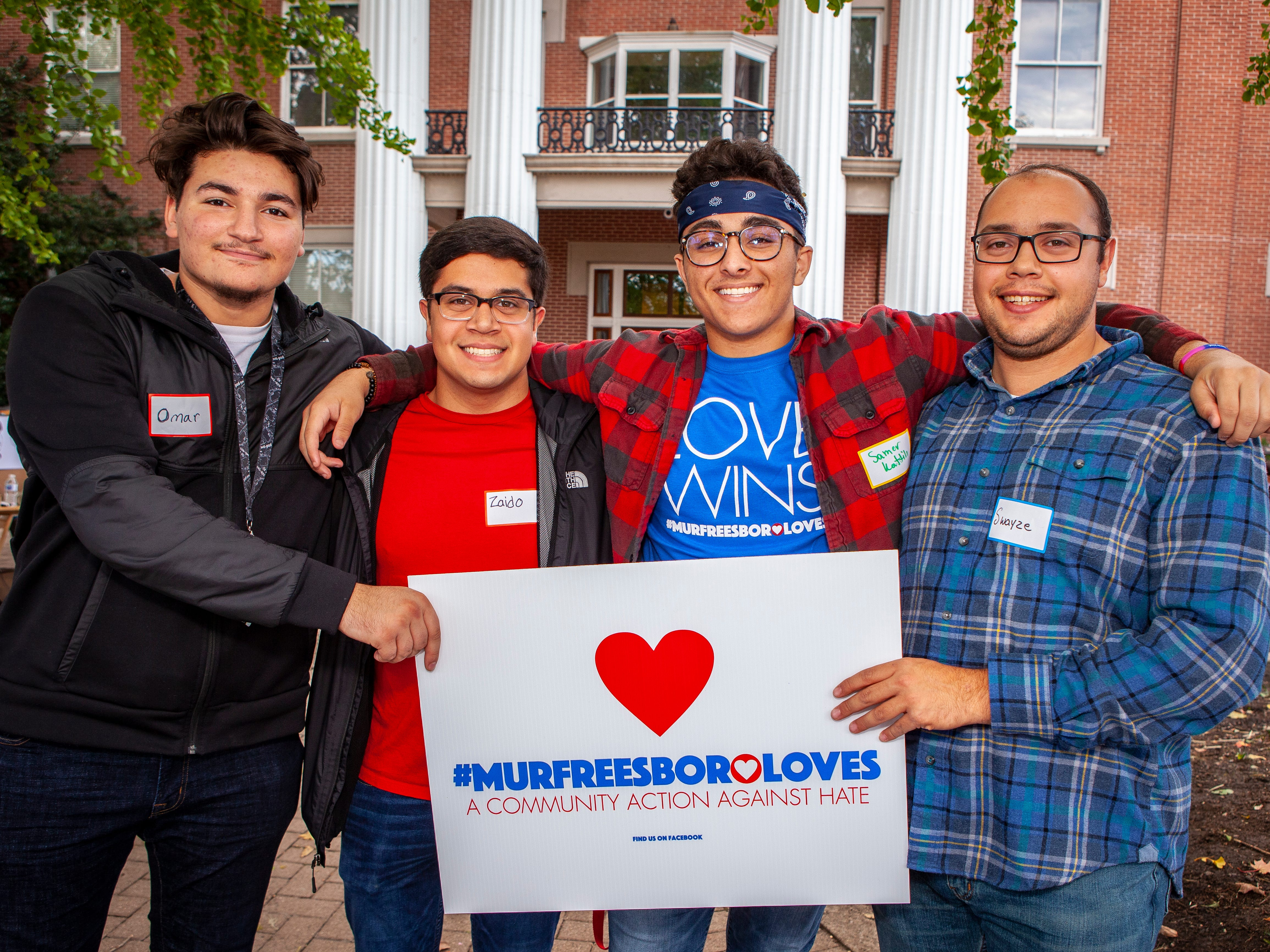 Murfreesboro Loves held an anniversary celebration event Sunday, Oct. 28, 2018 on the Public Square in downtown Murfreesboro.