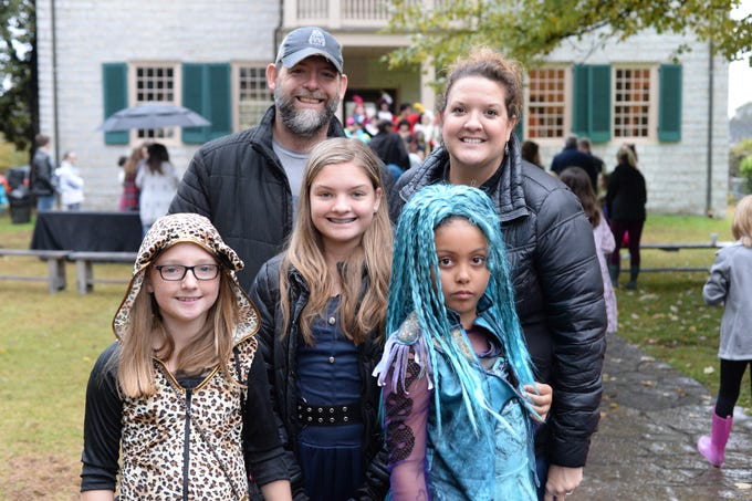 There was fun for the whole family during the Castle of Villains trick or treating event at Historic Rock Castle in Hendersonville on Friday, Oct. 26.