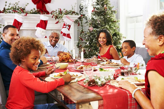 The most important part of planning and hosting a holiday gathering? Enjoy yourself.