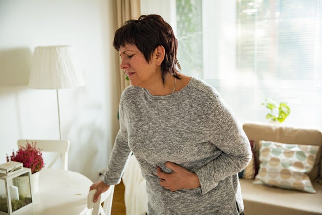 According to the National Institutes of Health, approximately 20 percent of women and five percent of men ages 50 to 65 have gallstones, although it occurs in younger individuals as well.