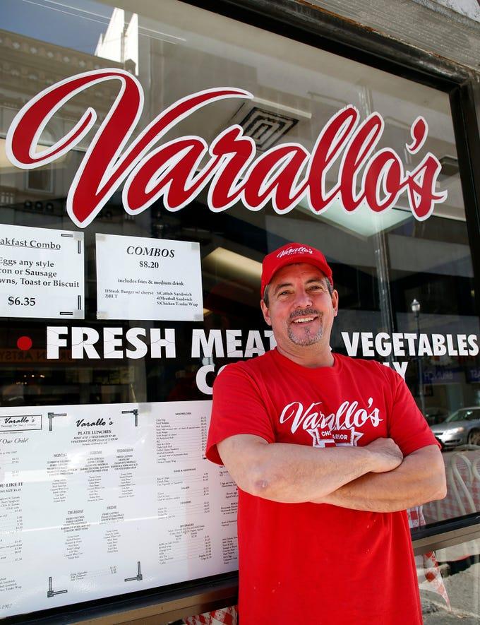 Todd Varallo, owner of Varallo's Chile Parlor & Restaurant is seen Monday, Oct. 29, 2018, in Nashville, Tenn.