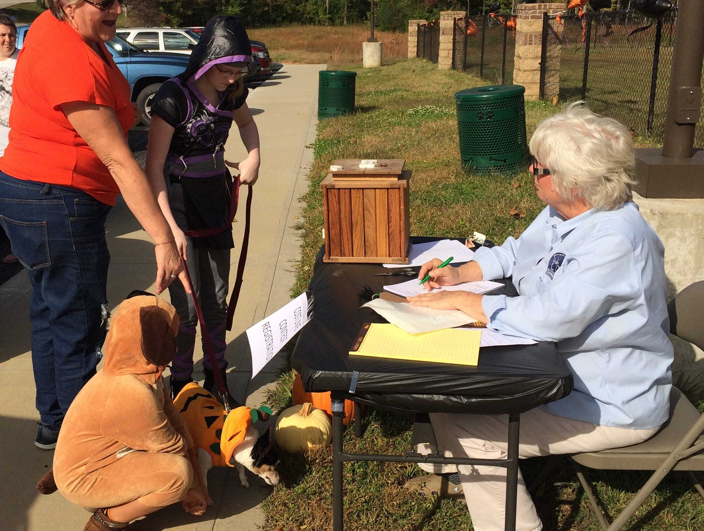 Boo at the Park benefiting the Humane Society of Dickson County on Sunday afternoon.