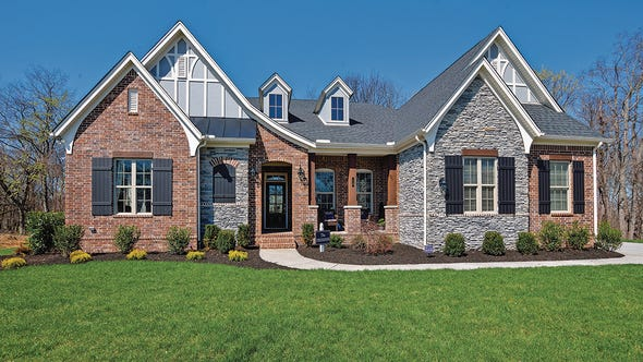 The Dresden is one of the new homes offered at Brooksbank Estates in Nolensville.