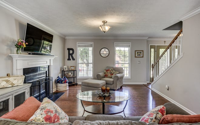 This home in White House was staged by Heritage House Furniture and Décor, a local store.  Realtor Megan Robinson, EXIT Real Estate Solutions, said it was a big factor in the listing of the home and the positive response.