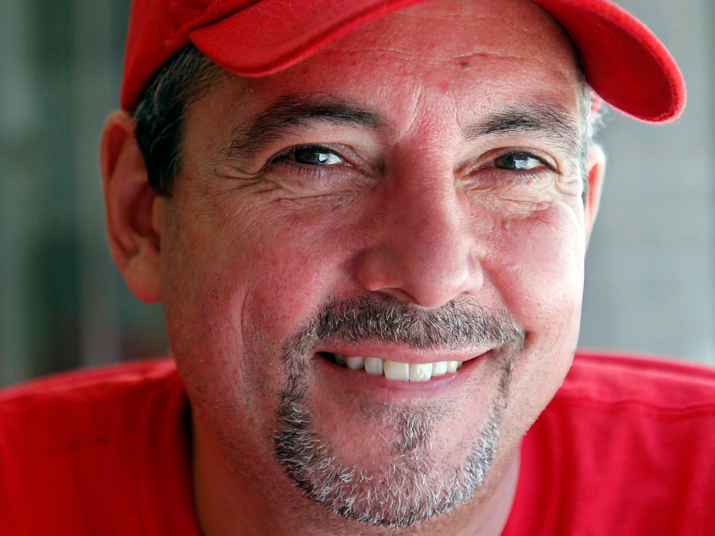 Owner Todd Varallo is seen at Varallo's Chile Parlor & Restaurant Monday, Oct. 29, 2018, in Nashville, Tenn.