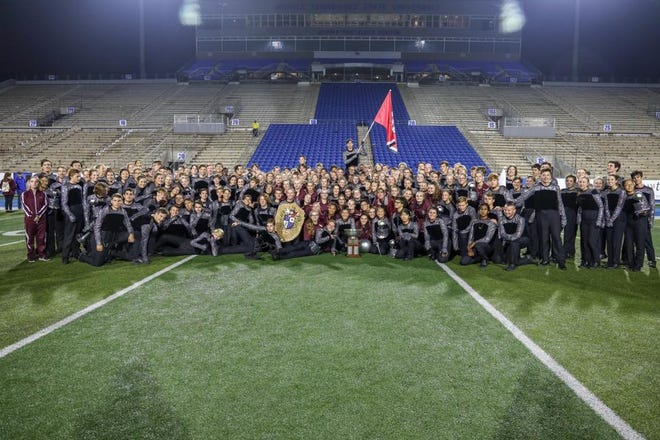The Franklin High School Marching band won the Contest of Champions Saturday, Oct. 27, 2018 at Middle Tennessee State University.