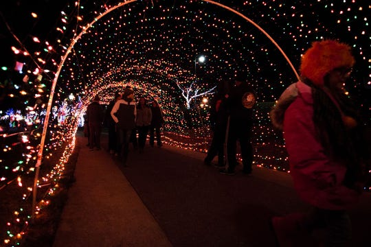 Christmas on the Cumberland will surround you in lights.