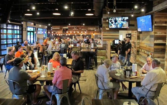 Bone Hook Brewing Co. in North Naples recently expanded its space and created an entirely new venue with a food menu for lunch and dinner.