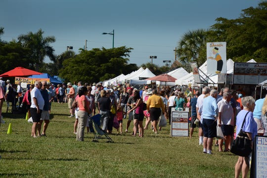 The Marco Island Farmers Market lasts from 7:30 a.m. to 1 p.m. Wednesdays starting Nov. 14.