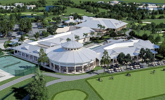 Artist rendering of the future Quail Creek Country Club.