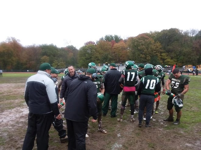 Passaic Valley battled a downpour and a muddy playing surface to top West Milford.