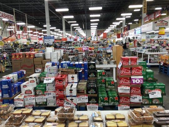 The aisles of the National Wholesale Liquidators store in Lodi offer a treasure hunt for bargain hunters