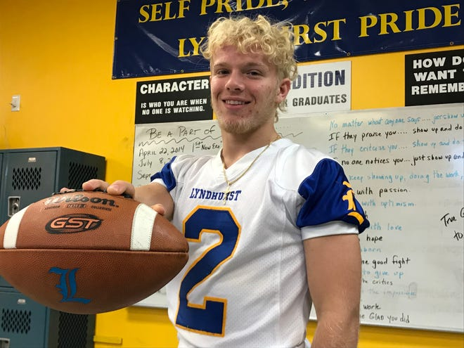 Lyndhurst junior running back and linebacker Piotr Partyla is among North Jersey's leaders with 13 sacks.