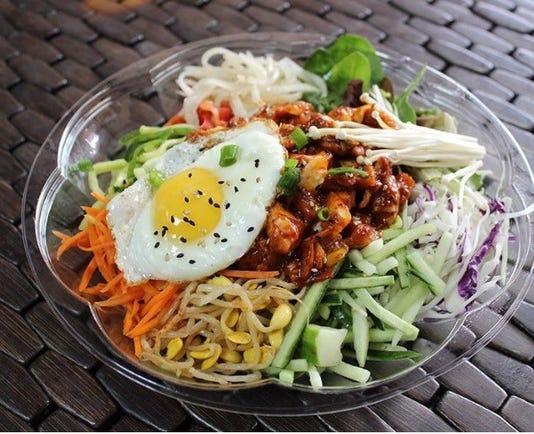 Kimchimama Spicy Chicken Bibimbap