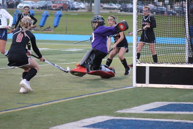 Wayne Valley goalie Amelia Vacca had her 13th shutout this season.