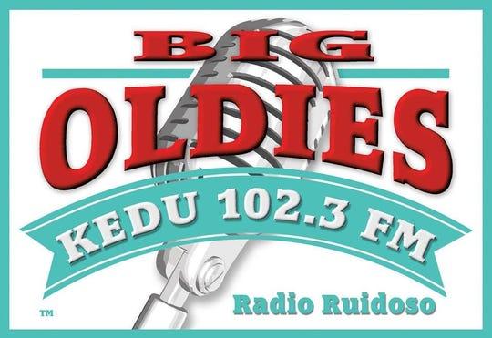 The Big Oldied logo for KEDU 102.3 FM