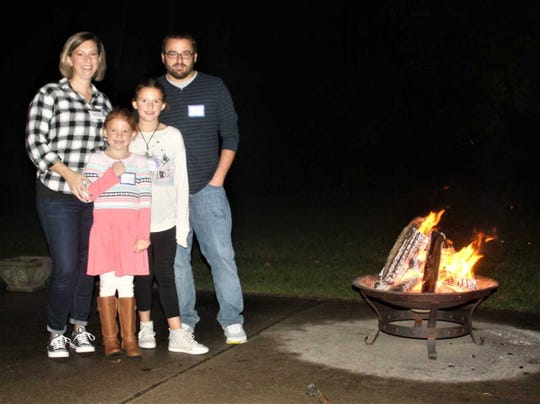 Members of the Montes family were out in full force at Sunday night's OLGC fundraiser for homeless individuals.