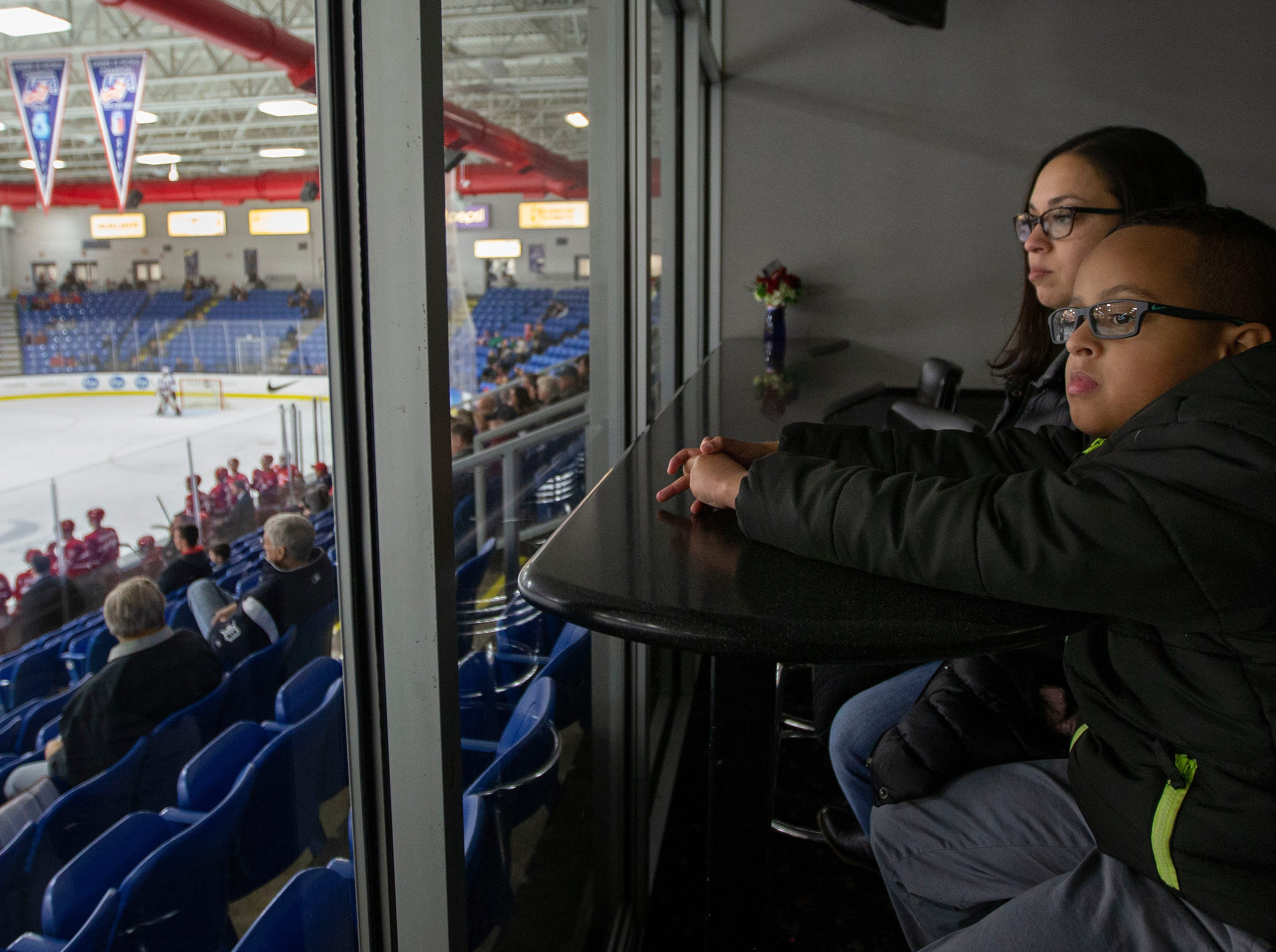 Sights and sounds of hockey music to ears of the autistic