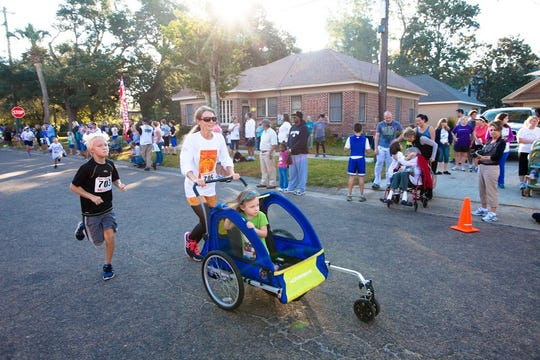 All ages are welcome to participate in the annual Great Pumpkin Run.