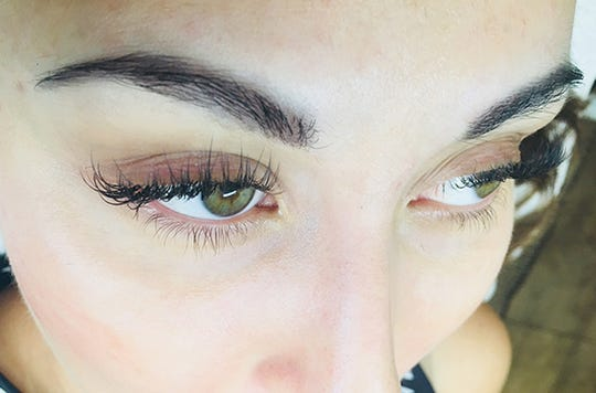 Classic Lash Extensions by Leslie Peck.