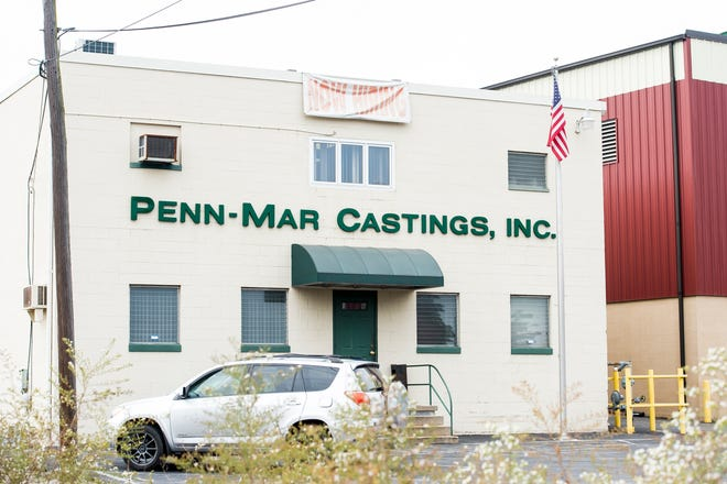 Penn-Mar Castings Inc., in Hanover Borough, is a gray and ductile iron casting foundry. Over the past two years, neighbors say they have been been dealing with instances in which metallic sand originating from Penn-Mar has covered and damaged their property.
