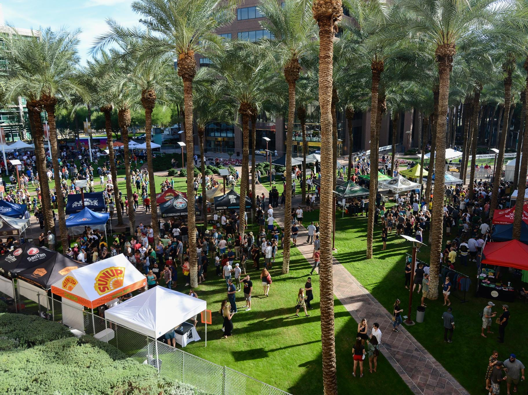 The fifth annual event hosted by the Phoenix New Times features beers from 60 breweries.