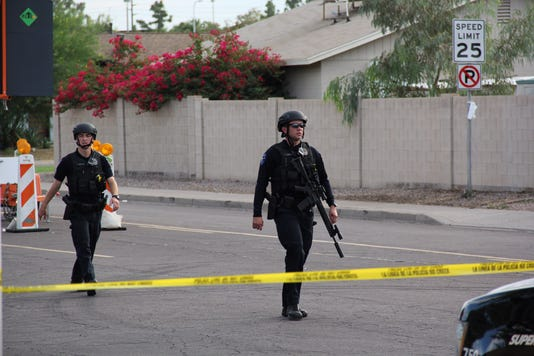 Tempe officer hurt in shooting