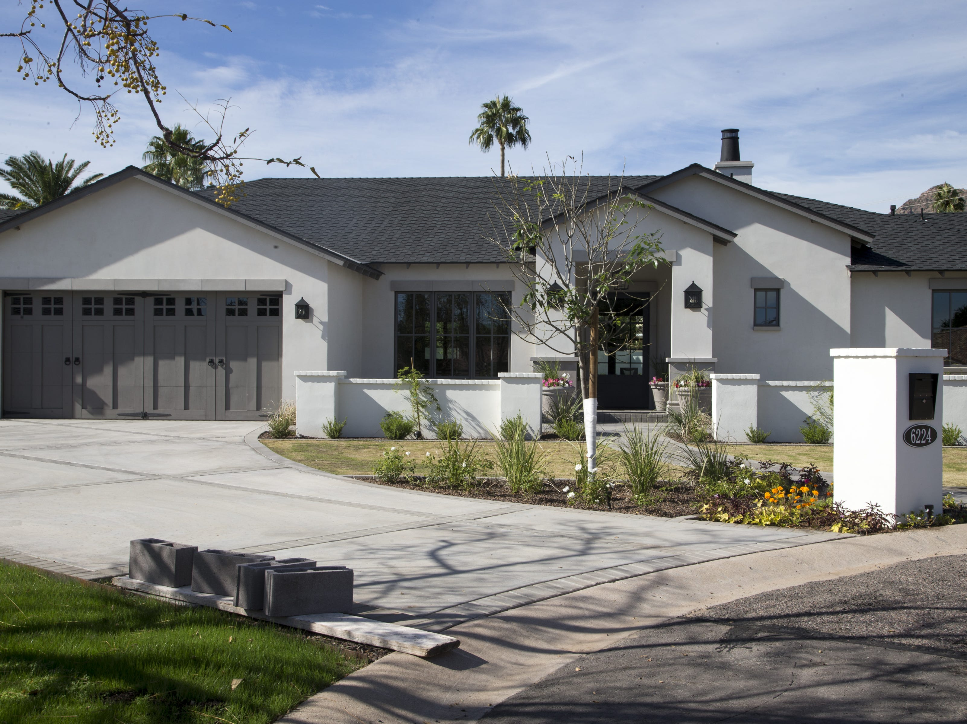 Arizona Diamondbacks third baseman Jake Lamb's new house in the Arcadia community in Scottsdale.