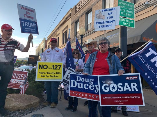 A string of controversies has done little to dent support for U.S. Rep. Paul Gosar among conservatives in Prescott.