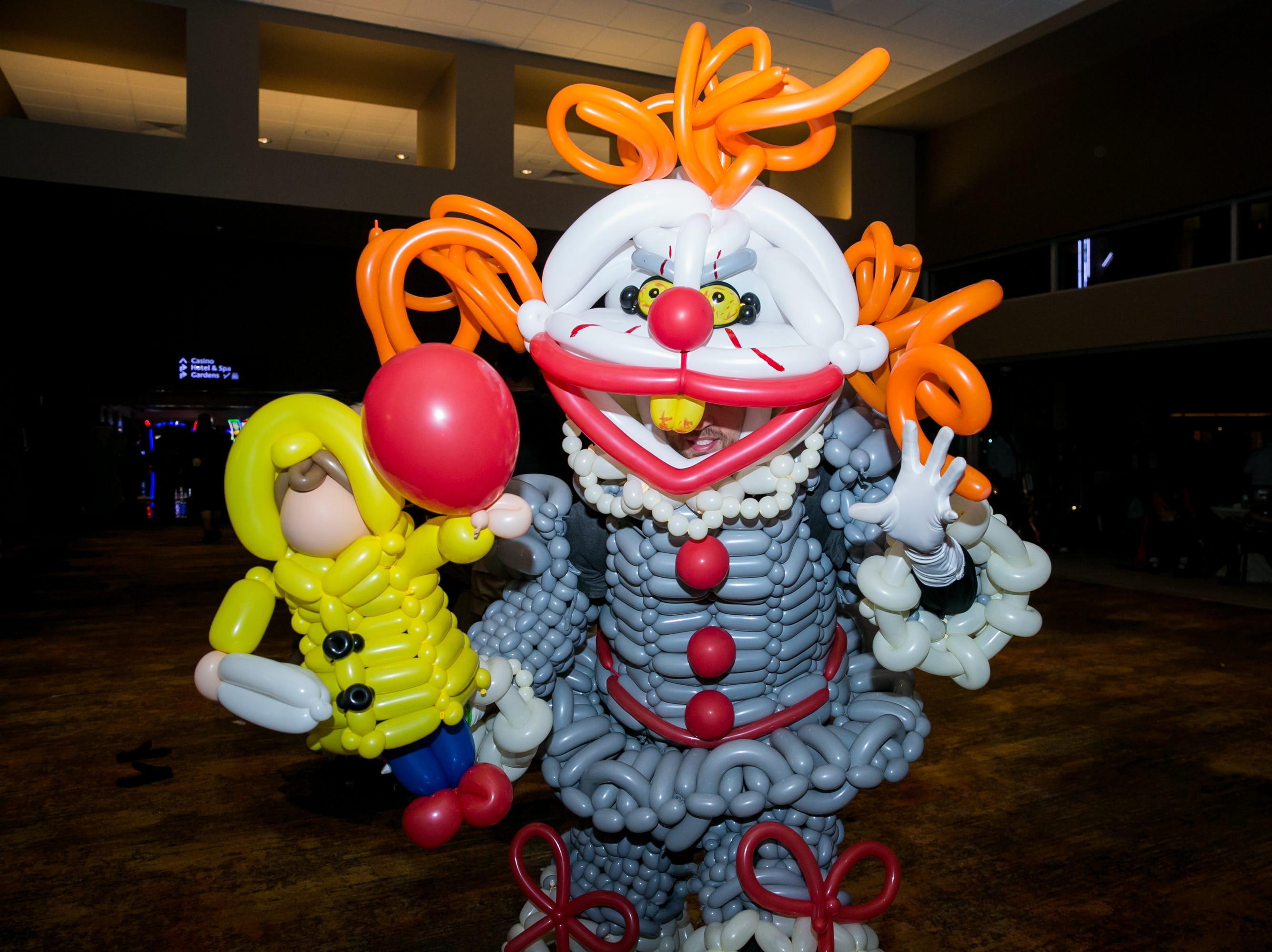 Pennywise took on a new form during Wicked Ball at Talking Stick Resort on Saturday, October 27, 2018.