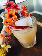 Warm up with The Hot Potato cocktail ($10) at Bri, which is made with vodka, Ancho Reyes chile liqueur, lemon and house sweet potato syrup.