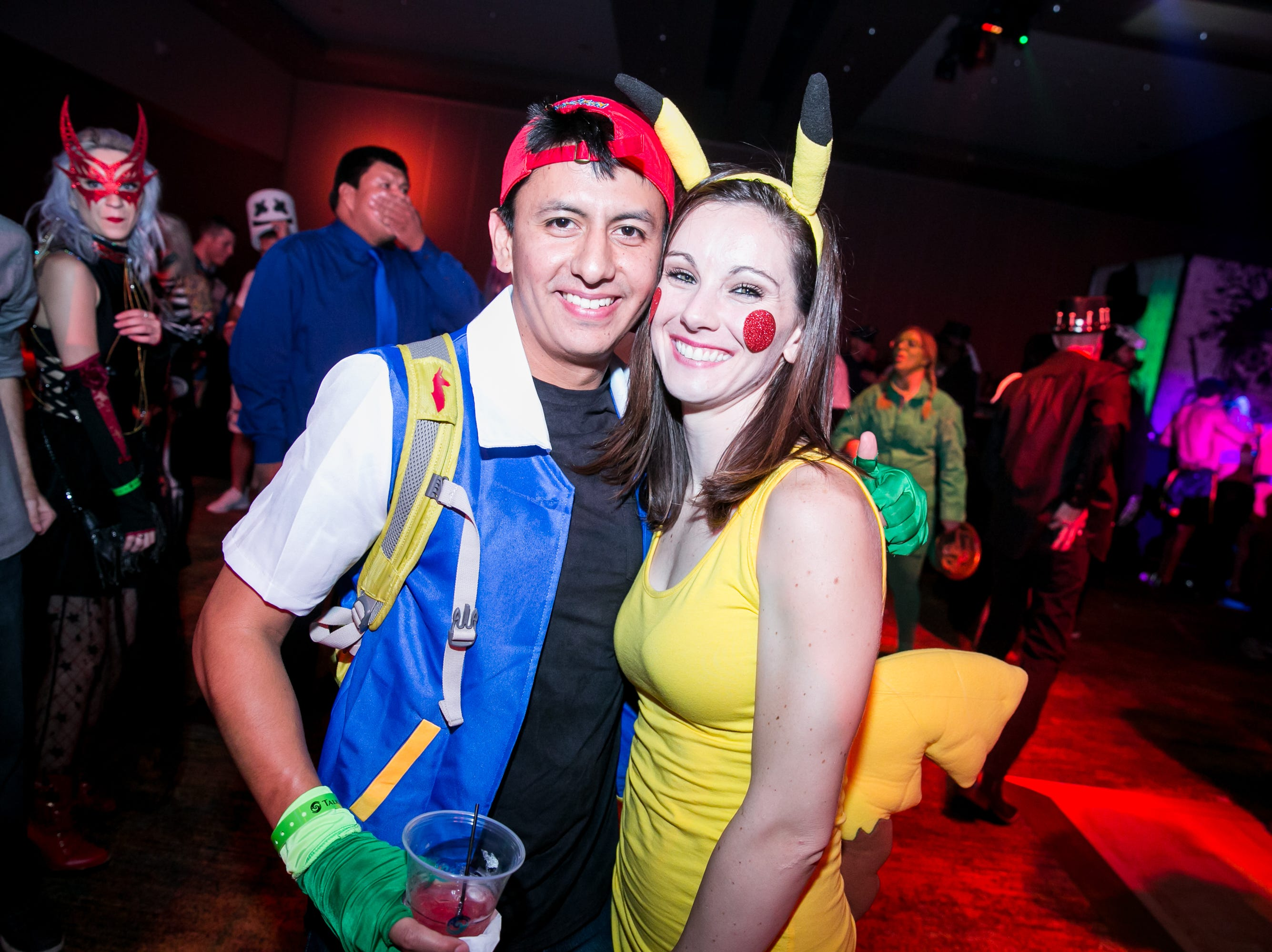 This Pokemon costume was adorable during Wicked Ball at Talking Stick Resort on Saturday, October 27, 2018.